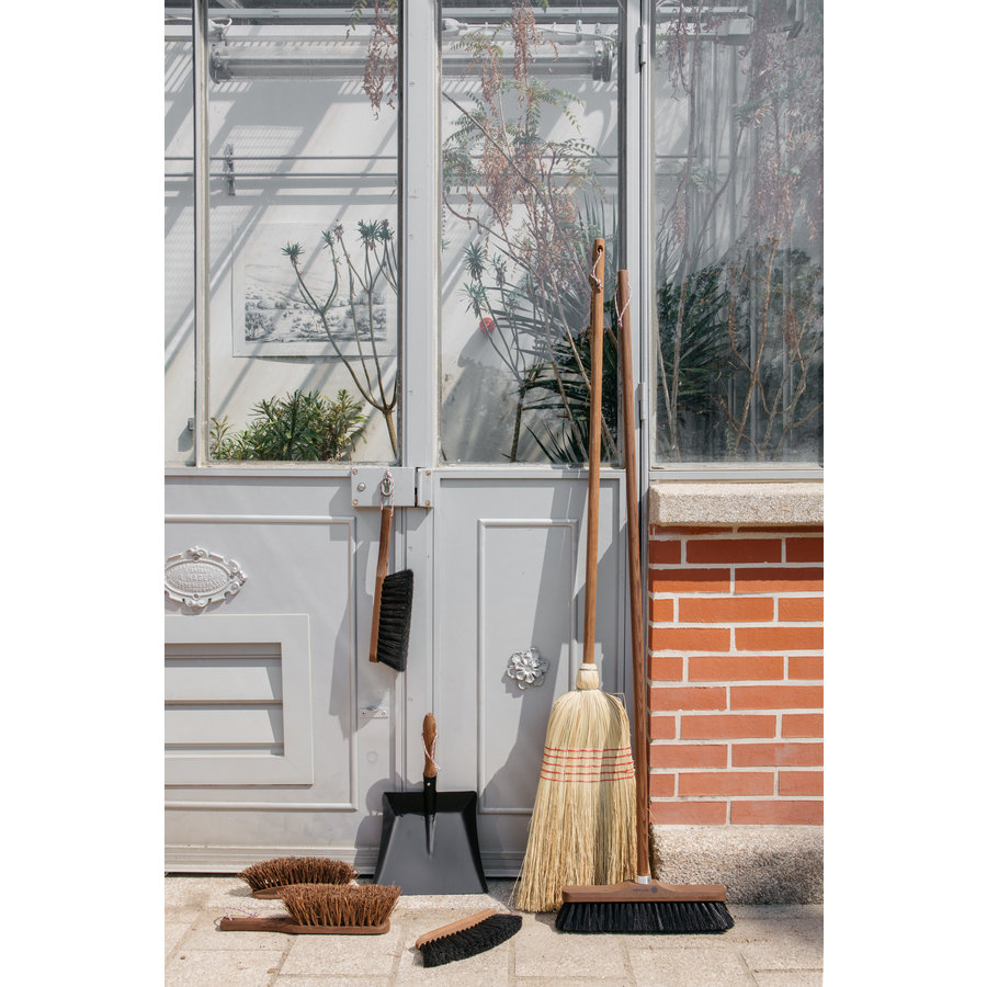 Broom without handle 33cm Black horsehair Andree Jardin