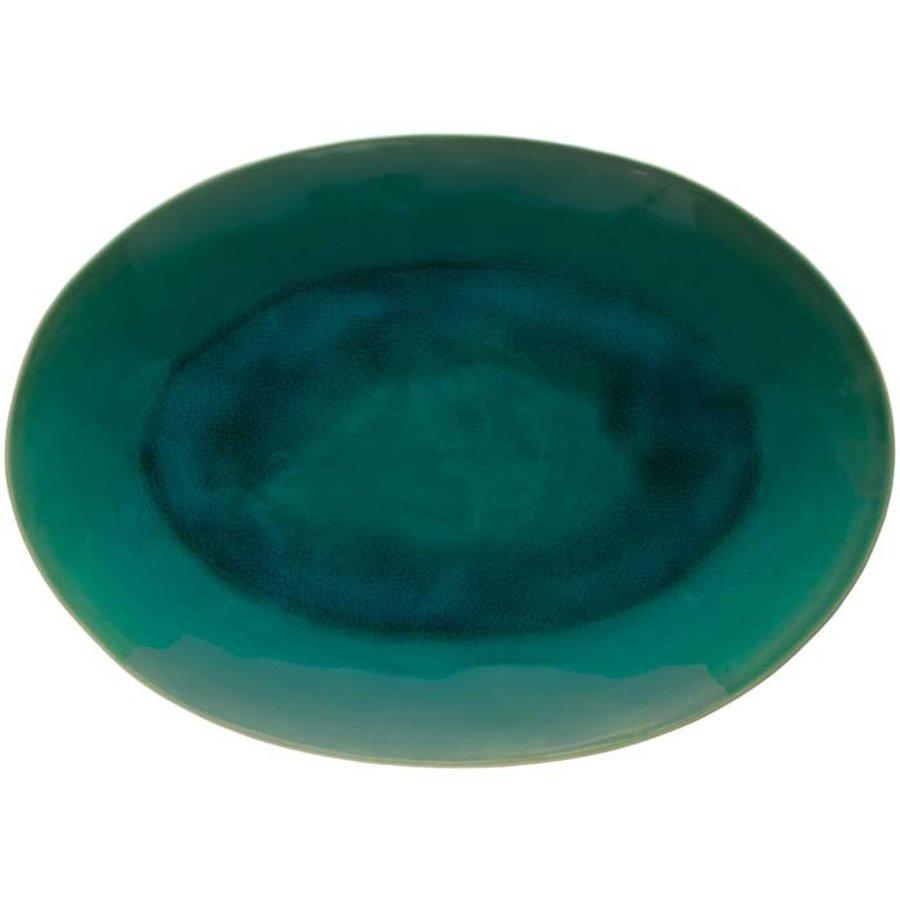 ovale schaal 40cm riviera azur