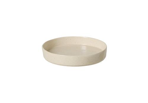 soup/pasta plate 24cm lagoa creme