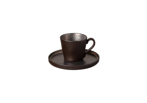 teacup an saucerl 0.21L Lagoa black