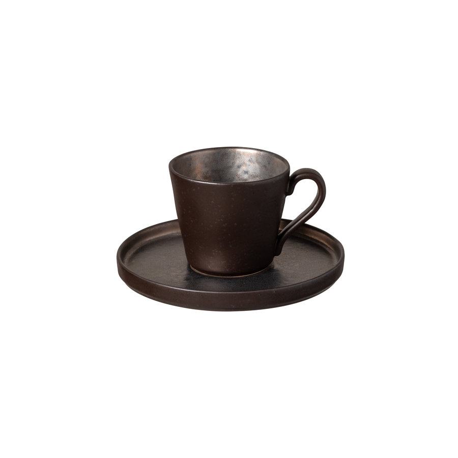 teacup an saucerl 0.21L Lagoa black
