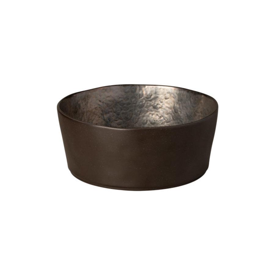 Serving bowl Lagoa zwart d24xh10
