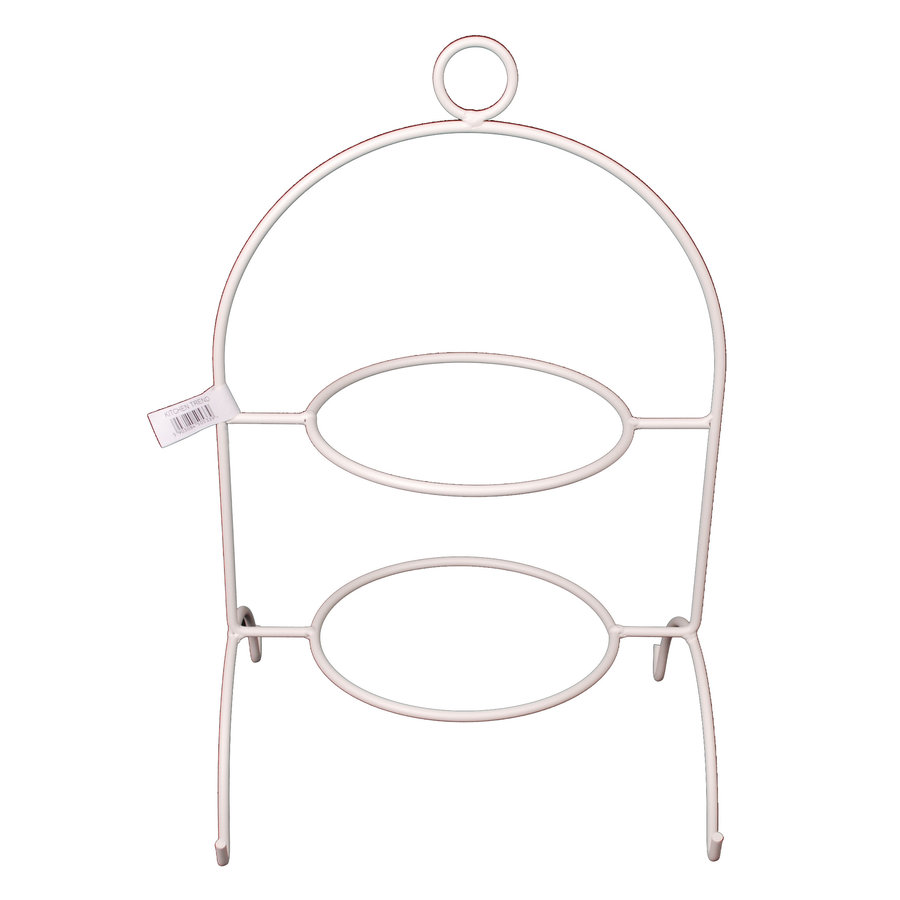 Etagere 2 laags wit