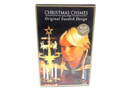 Chime reindeer Gold