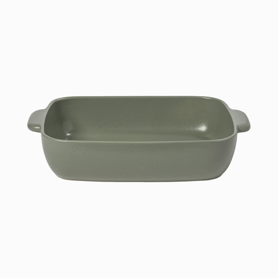 Medium Rectangular baker 41 cm green