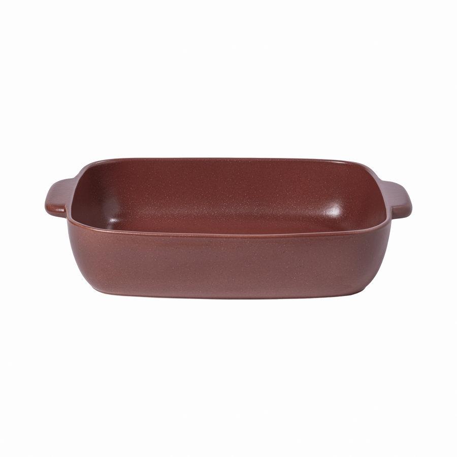 Medium Rectangular baker 41 cm red