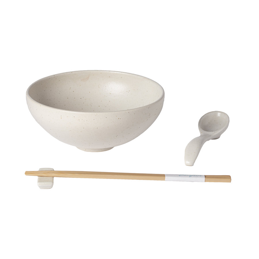 ramen bowl set pacifica creme