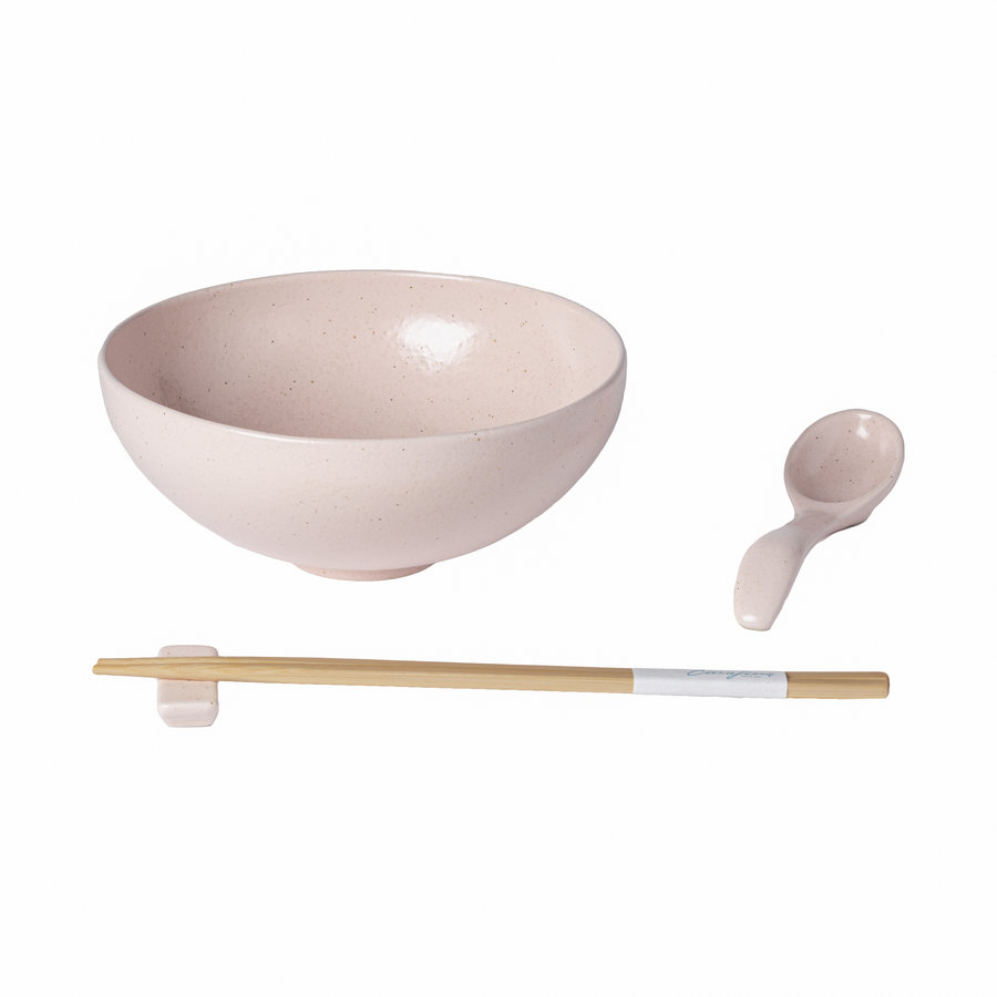 ramen bowl set pacifica rose