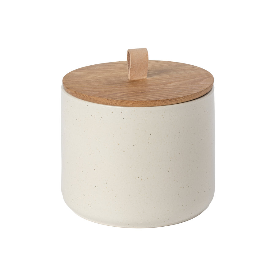 Opbergpot groot 20 cm pacifica creme