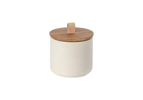 Opbergpot medium 15 cm pacifica creme