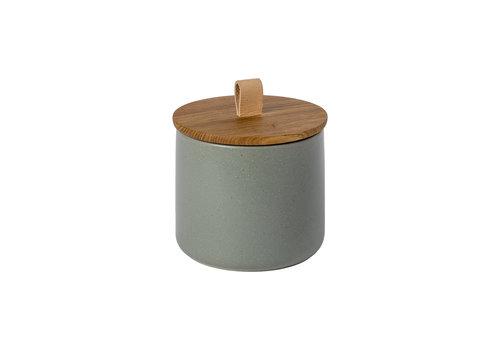 Opbergpot medium 15 cm pacifica groen