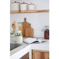 Oak wood cutting- serving board 42 cm