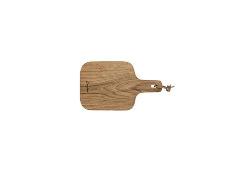 Oak wood  cutting- serving board 30 cm