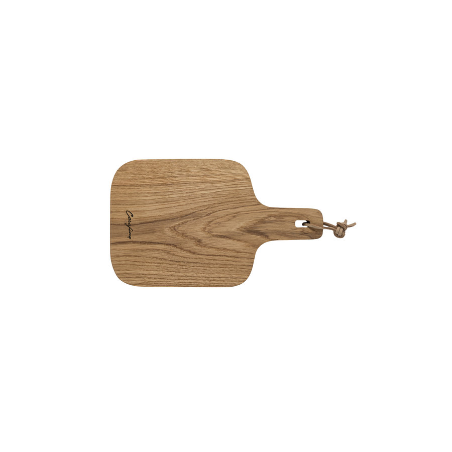 Oak wood  cutting- serving board 30 cm
