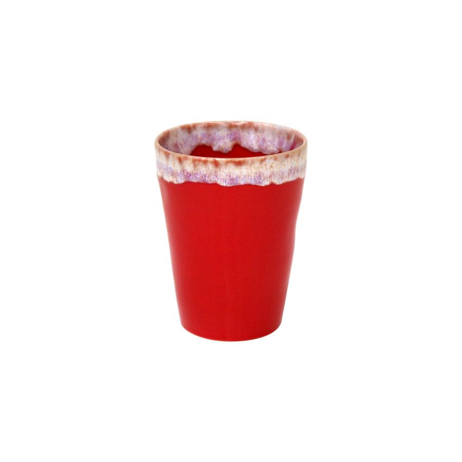 Grespresso latte kopje rood