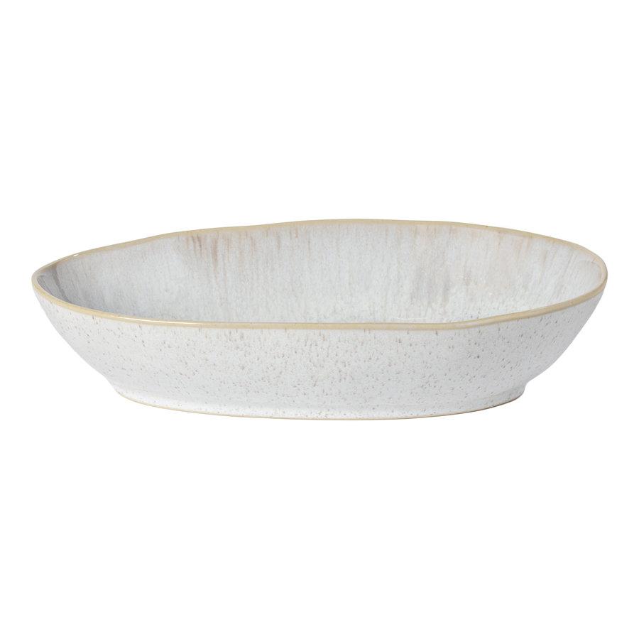 ovale schaal 32 cm Eivissa zand beige
