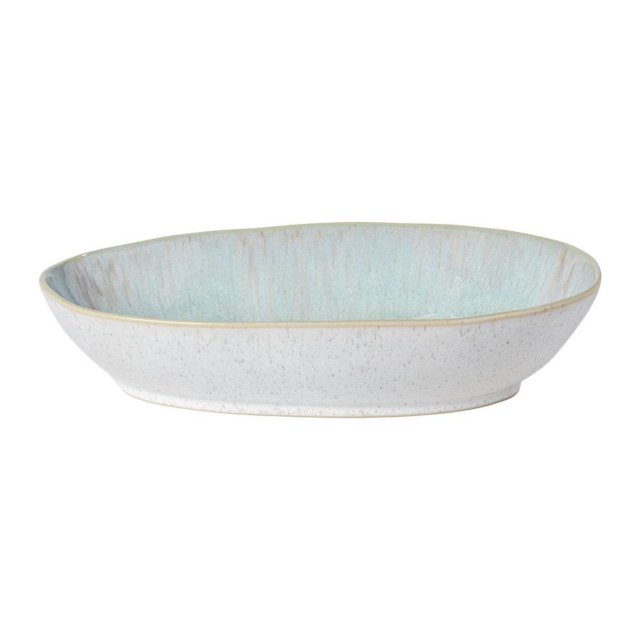 Oval baker 32 cm Eivissa sea blue