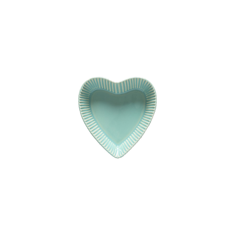 2 heart bowls forma bakeware green