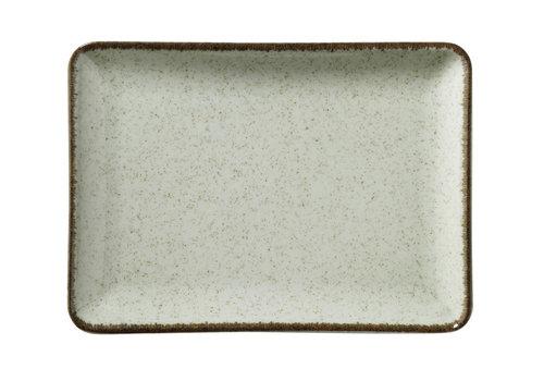 platter 18 x 13cm ocean sea green