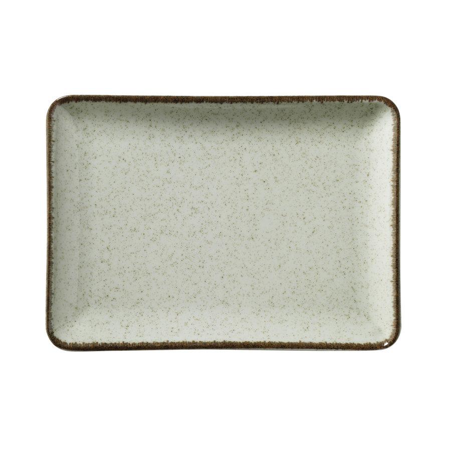 platter 23x17cm ocean sea green