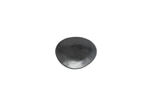 ovaal bord 16cm Livia zwart