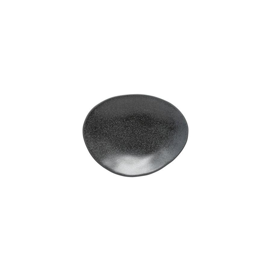 oval platter 16 cm livia black