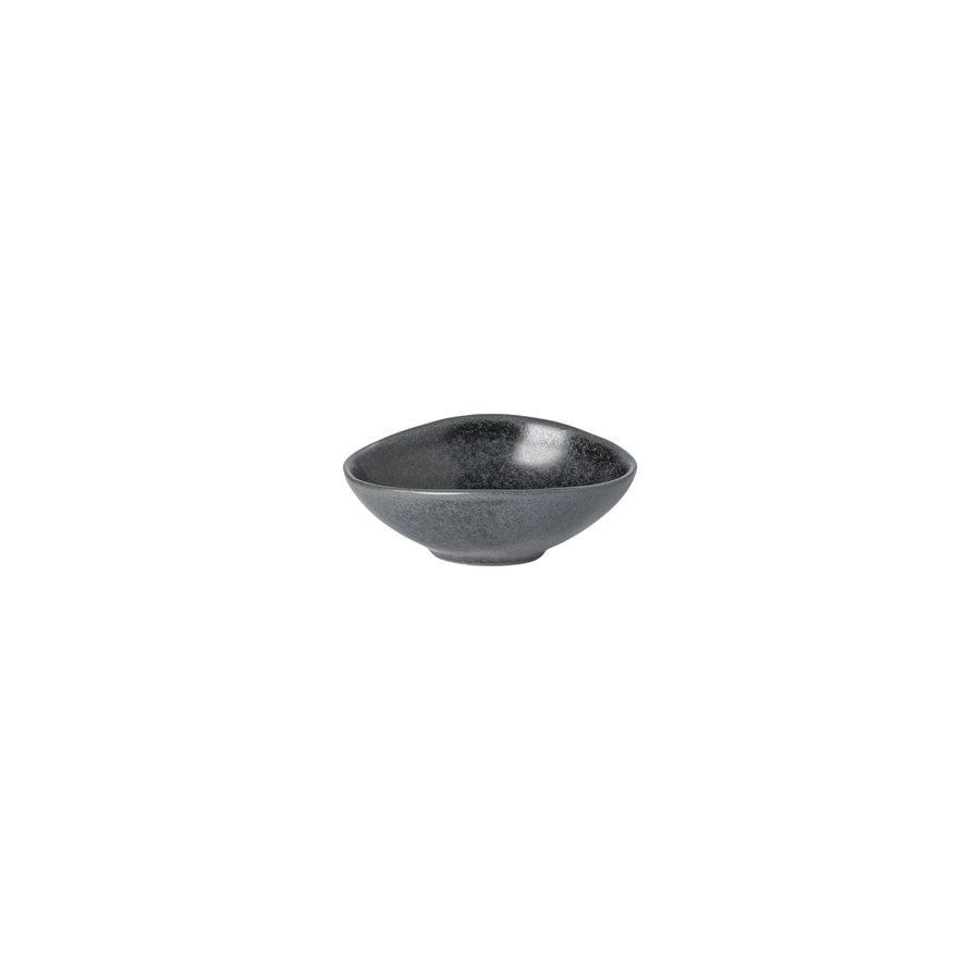 ovalekom 10 cm Livia mat zwart