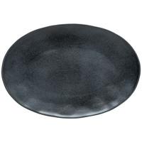 oval platter 45 cm livia black