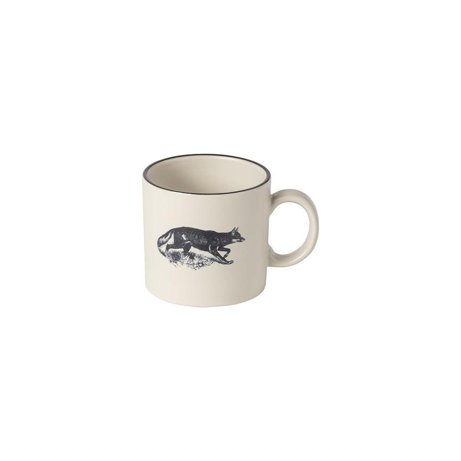 set/4 mugs elements fauna