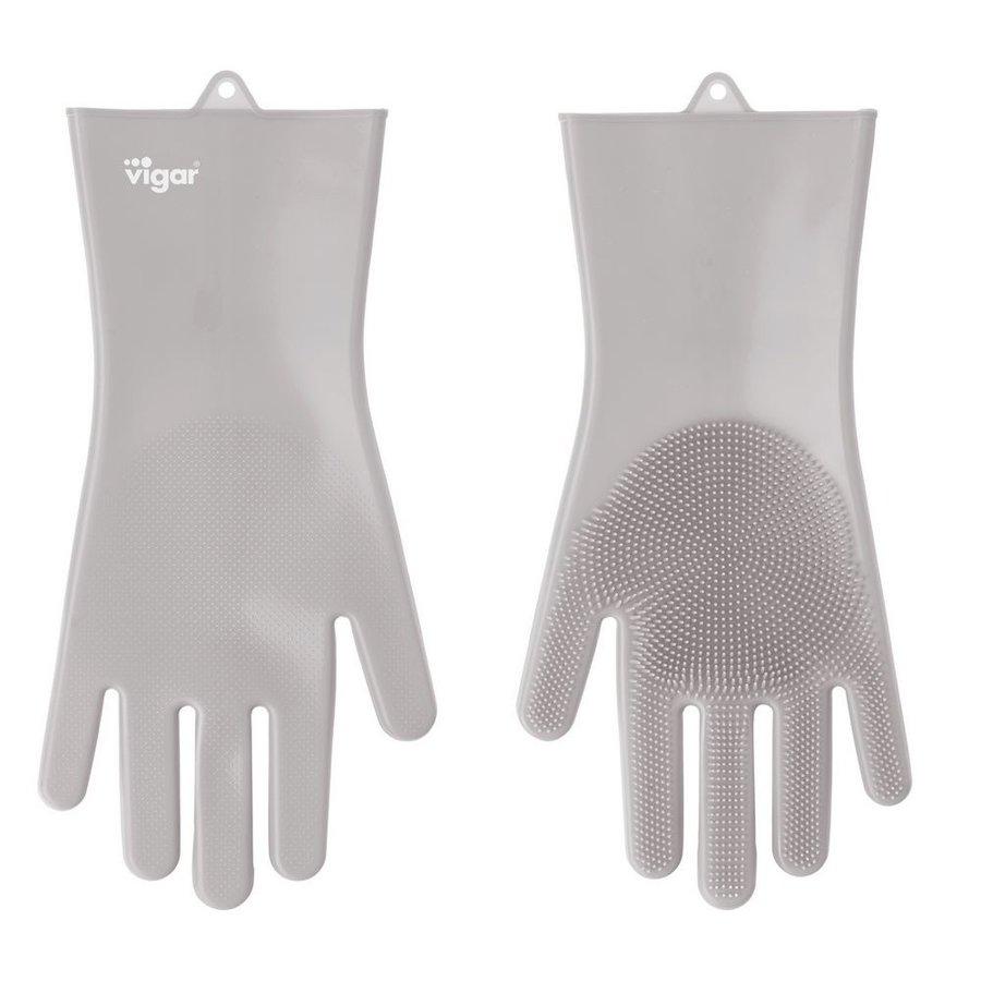 silicone handschoenen grijs