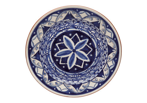round bowl 43cm alentejo terracota