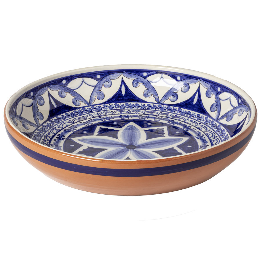 round bowl 42cm alentejo terracota