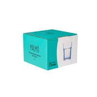 longdrinkglas Malmo blauw set van 4