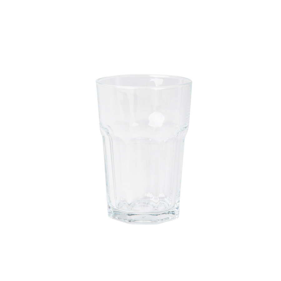 longdrinkglas Malmo transparant set van 4