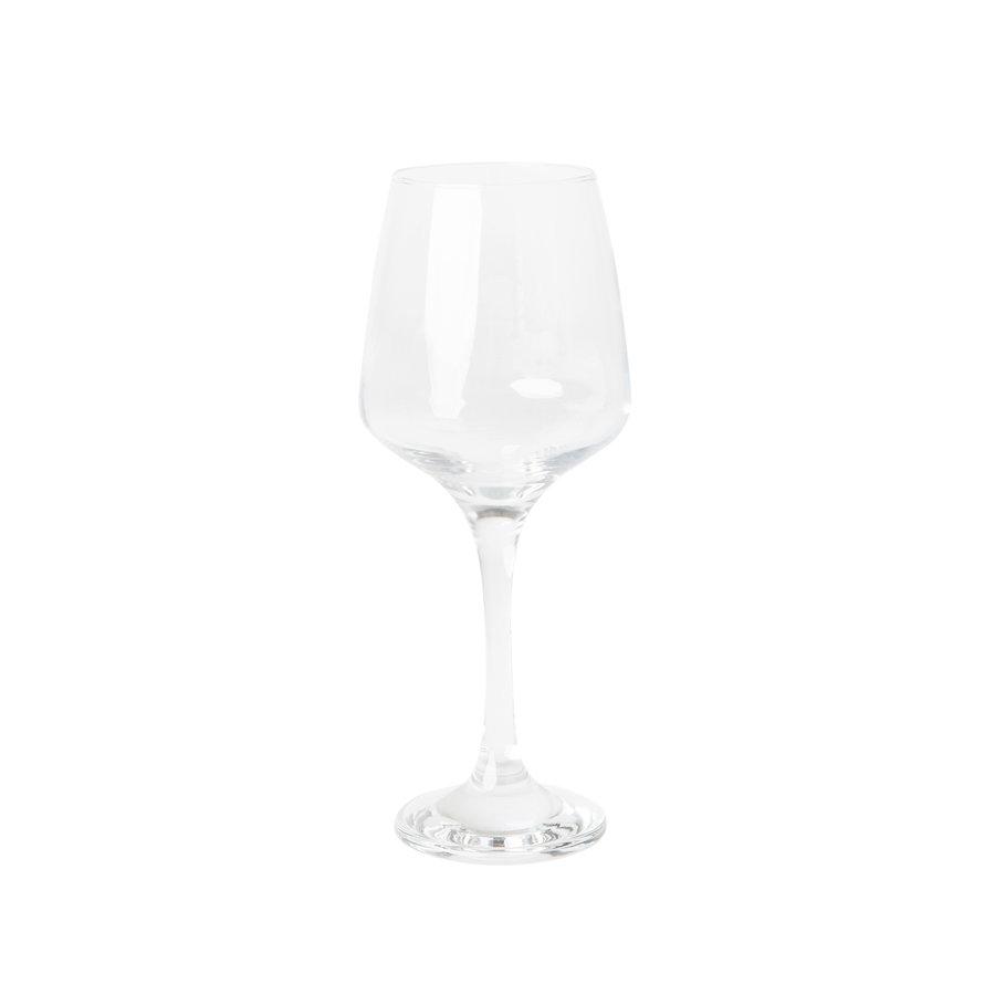 Rode wijnglas Monaco set van 4