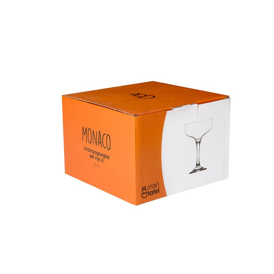 Champagneglas Monaco set van 4