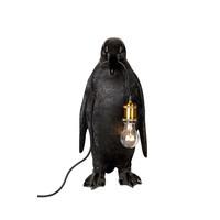 Penguin lamp black