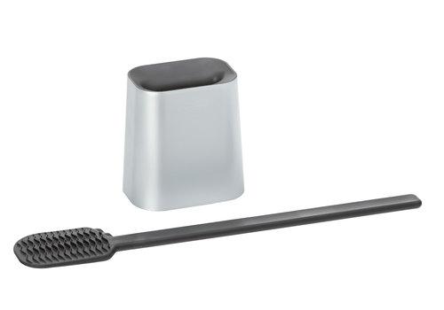 chrome toiletbrush set