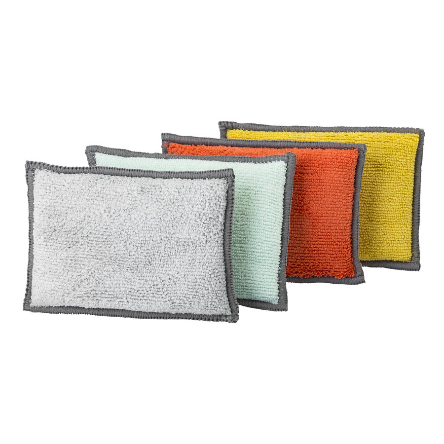 microfiber sponge set /4