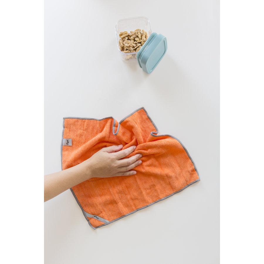 microfiber cloths set /4