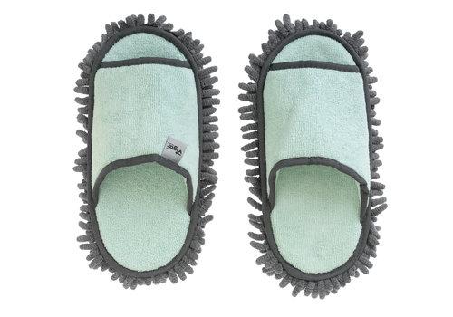 microfiber schoonmaak slippers turquoise