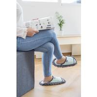 microfiber schoonmaak slippers geel