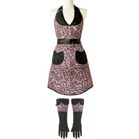 lula lace apron and gloves