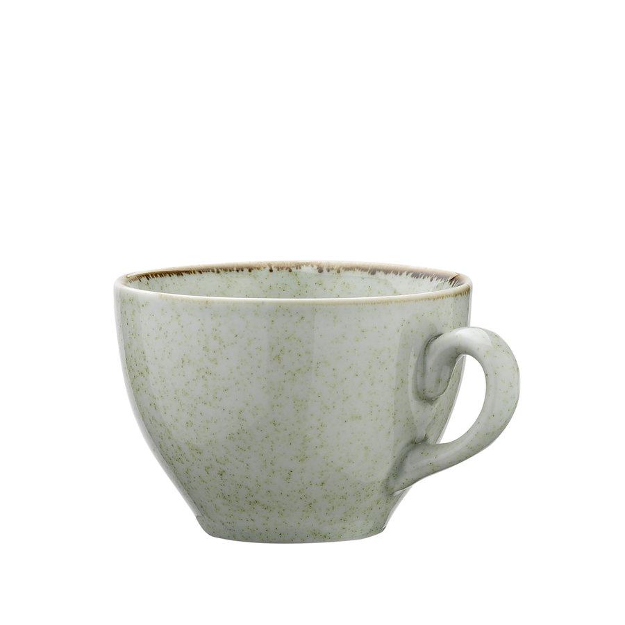 koffie kopje ocean zeegroen