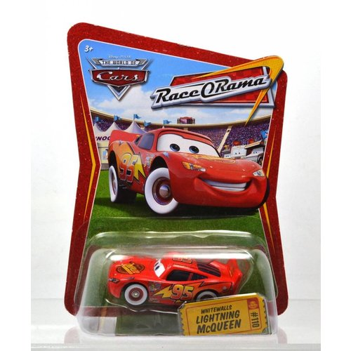 Disney Cars Whitewalls Lightning McQueen