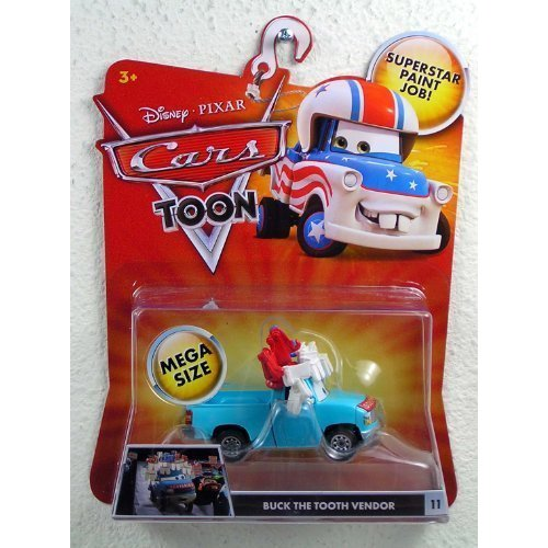 Disney Cars Buck the Tooth Vendor (Toon Cars) (DeLuxe)