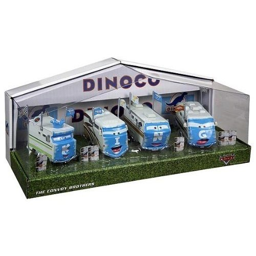 Disney Cars Dinoco Convoy Brothers (D23 Exclusive)