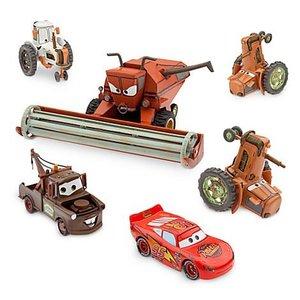 Disney Cars Tractor Tipping DeLuxe Diecast met Frank (1:43)