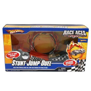 Hot Wheels Stunt Jump Duel - Race Aces