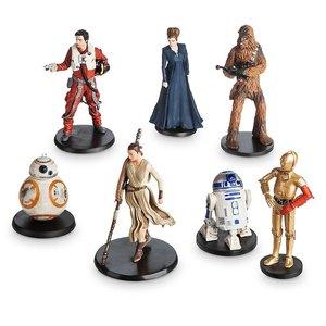 Star Wars The Force Awakens Resistance Figurine playset